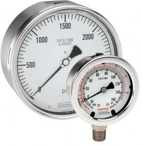 Pressure gauges.IMPA 651501...6532..